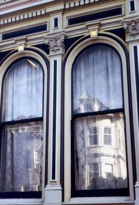 SFO victorian mirror