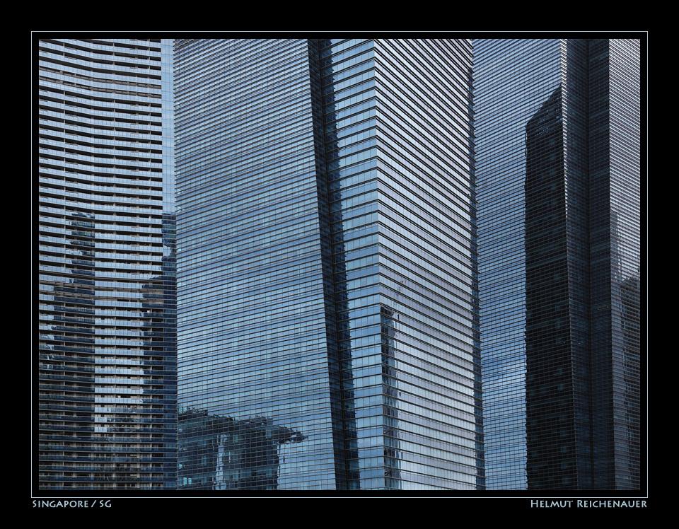 Shades of Blue II, Marina Bay, Singapore / SG