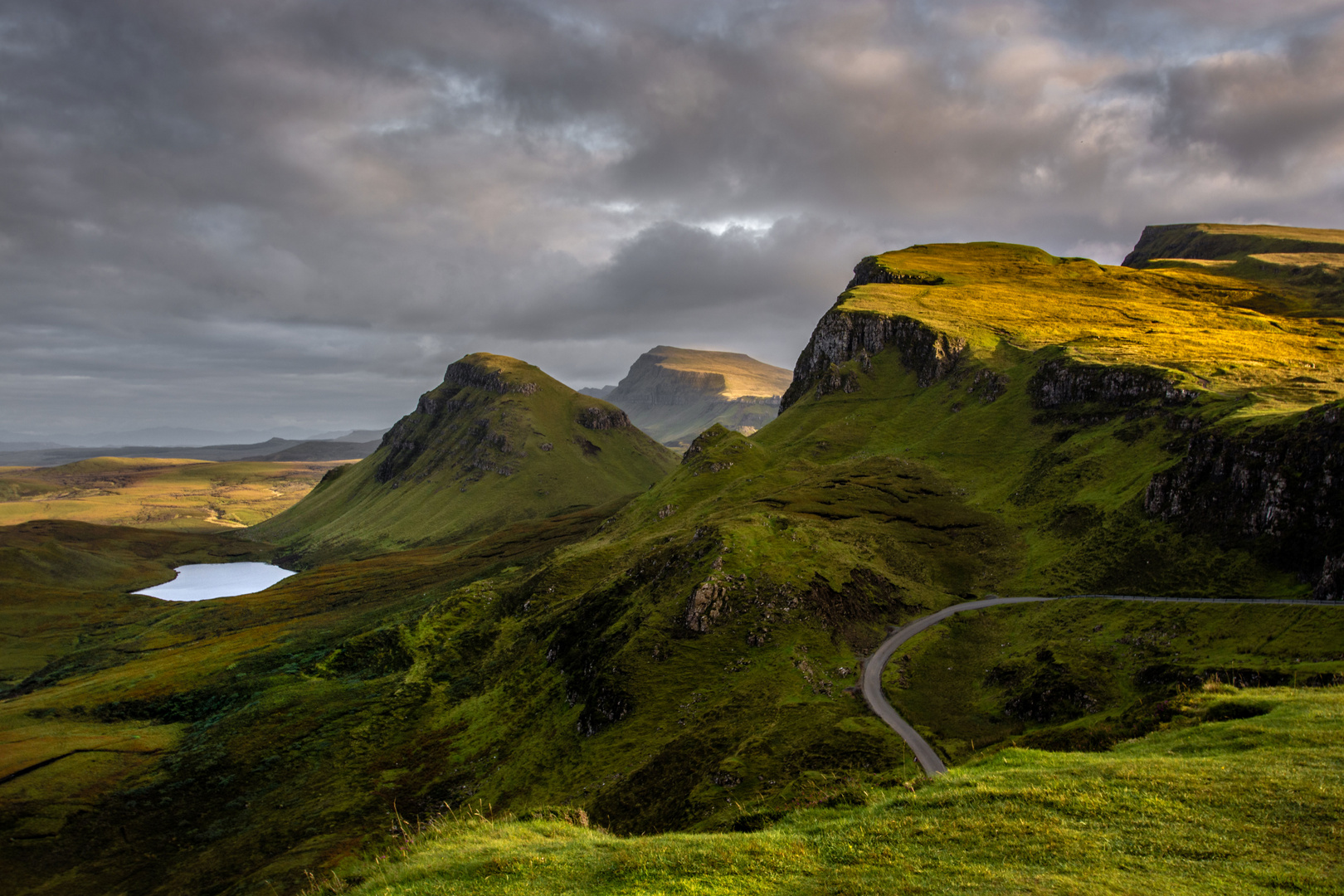 Shades of Quiraing