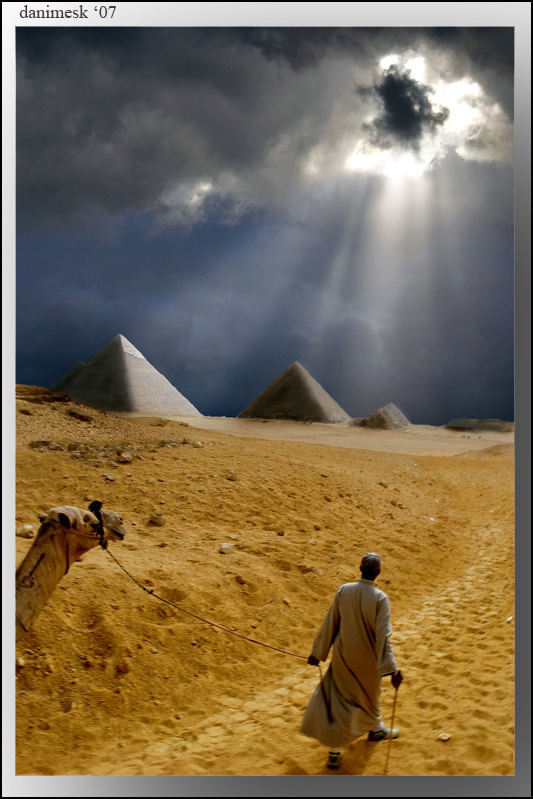 shadow of pyramids