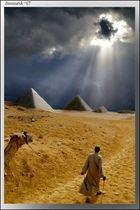 shadow of pyramids