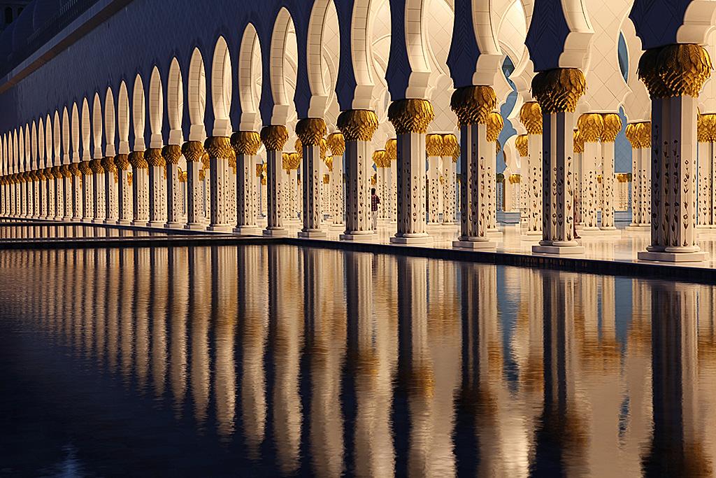 Shaik Zayed Moschee.