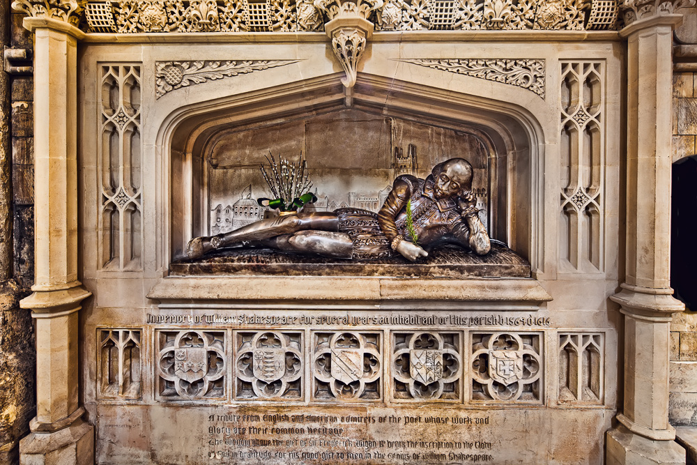 Shakespeare Gedenkstätte...