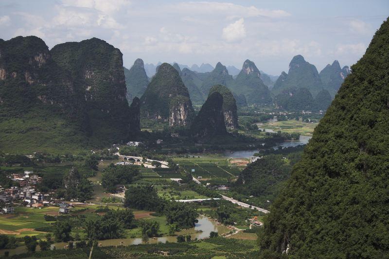 Shan shui - die Landschaft um Yangshuo