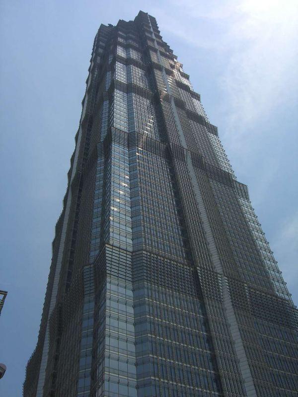 Shanghai 2006 - Jin Mao Tower - Höchster Wolkenkratzer Chinas