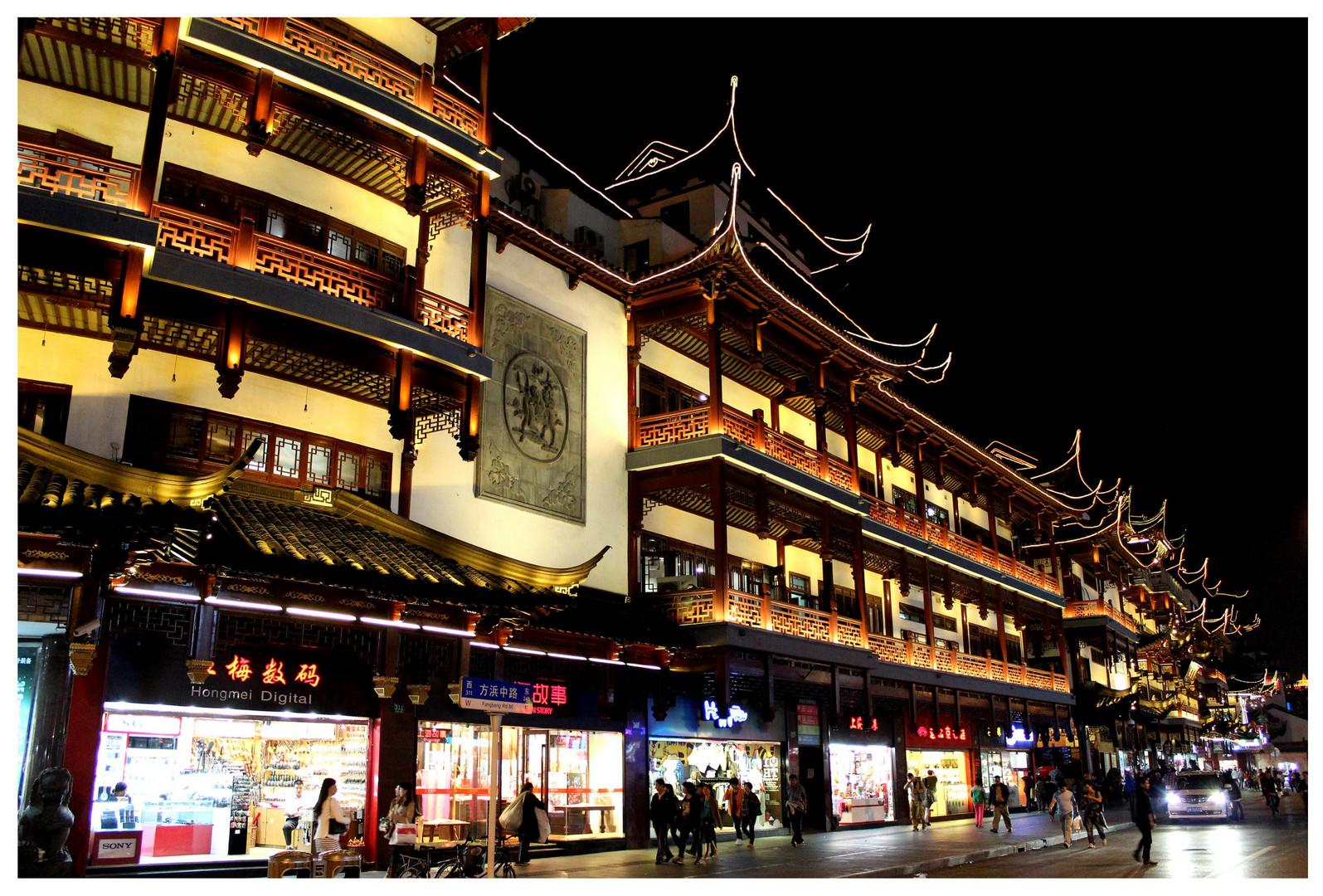 Shanghai am Abend
