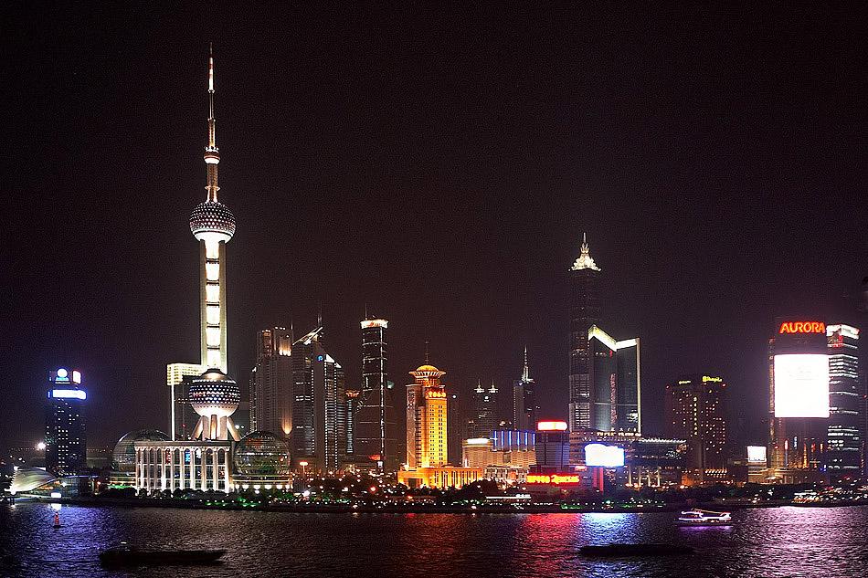 Shanghai bei Nacht (2)