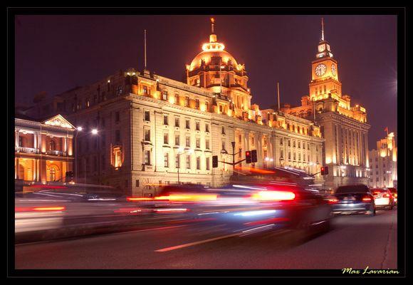 Shanghai, effetto notte