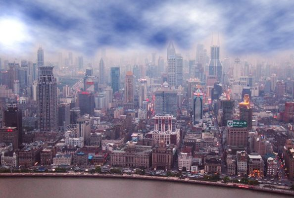 Shanghai from Oreintal Pearl Tower
