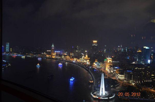 Shanghai sous la nuit
