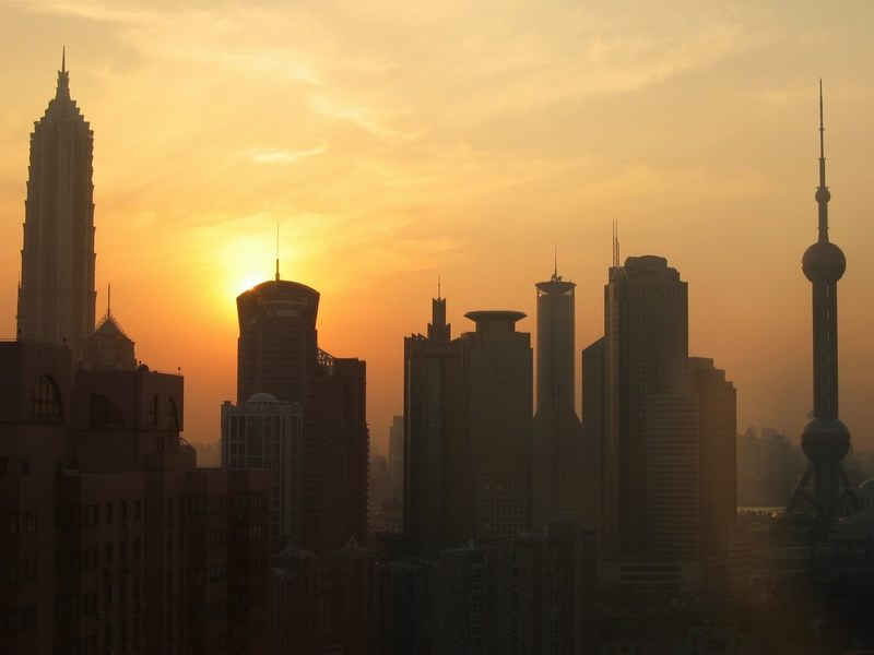 Shanghai Sunset (2. Versuch)