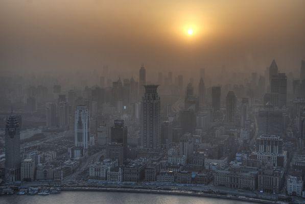 Shanghai - The Bund // HDR