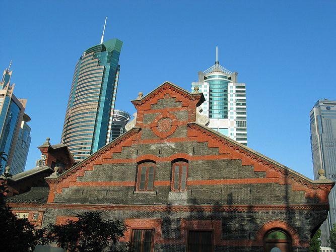 Shanghai zwischen Tradition und Fortschritt