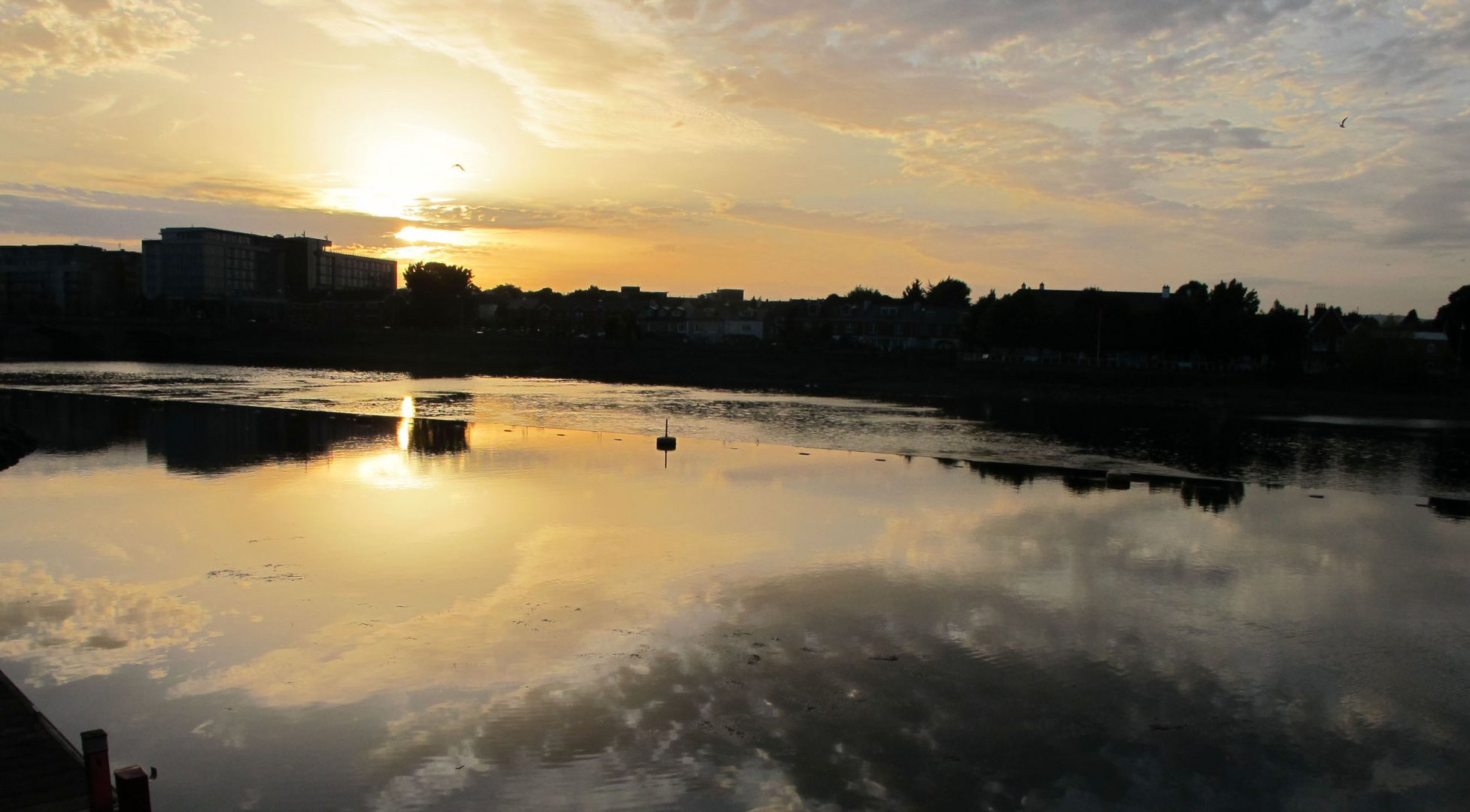 Shannon River in Limerick