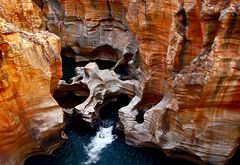shapes inthe cliff