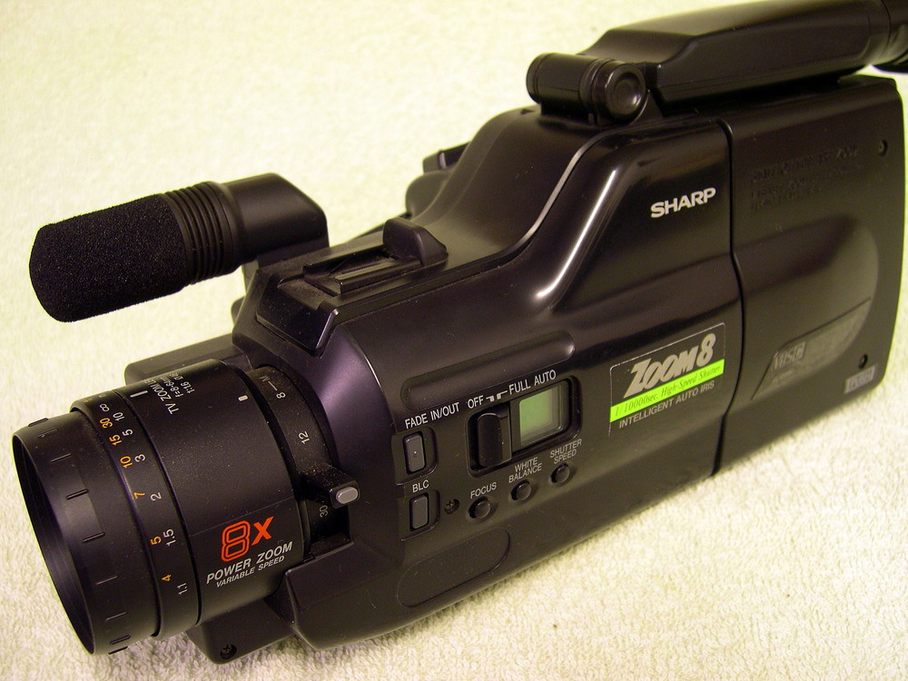 Sharp Vhs C Camcorder Model Vl