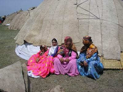 Shasavand Nomadic Women- Moghan Plain, Ardabil-Iran