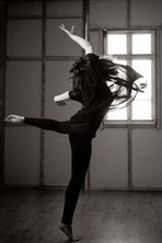 .....she came to dance....