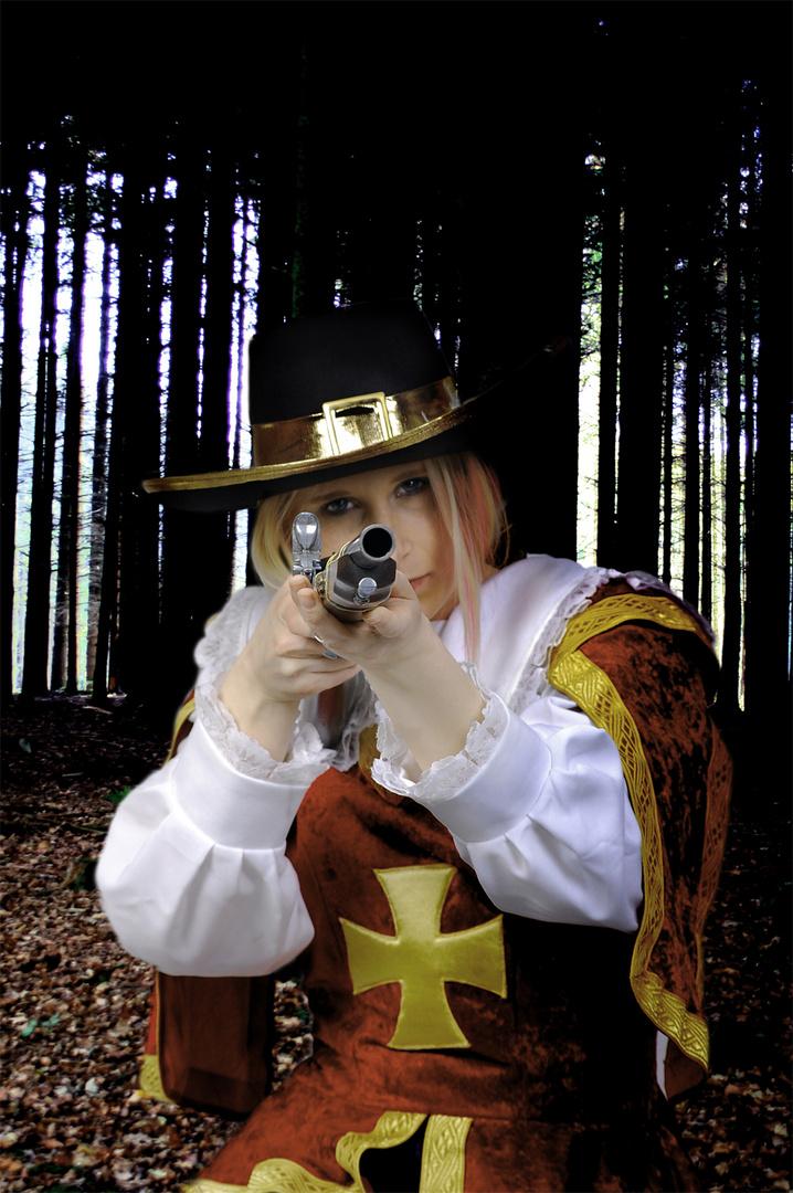 she have a gun