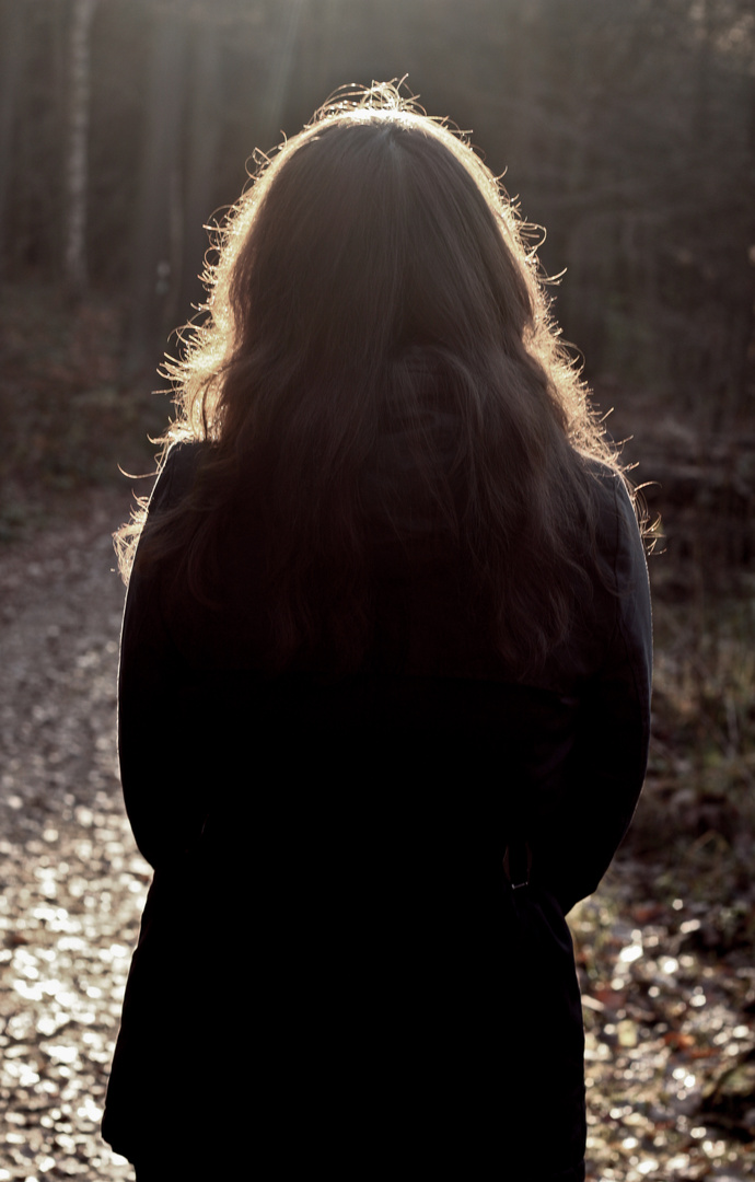 She was soo melancholy...