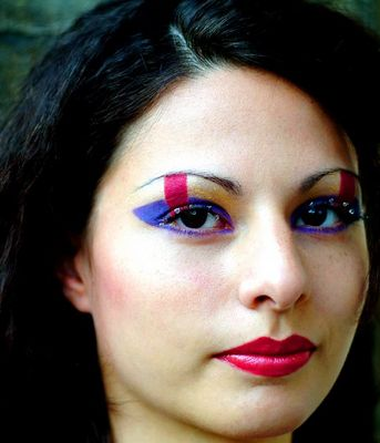 Sheena's neues Make Up 2