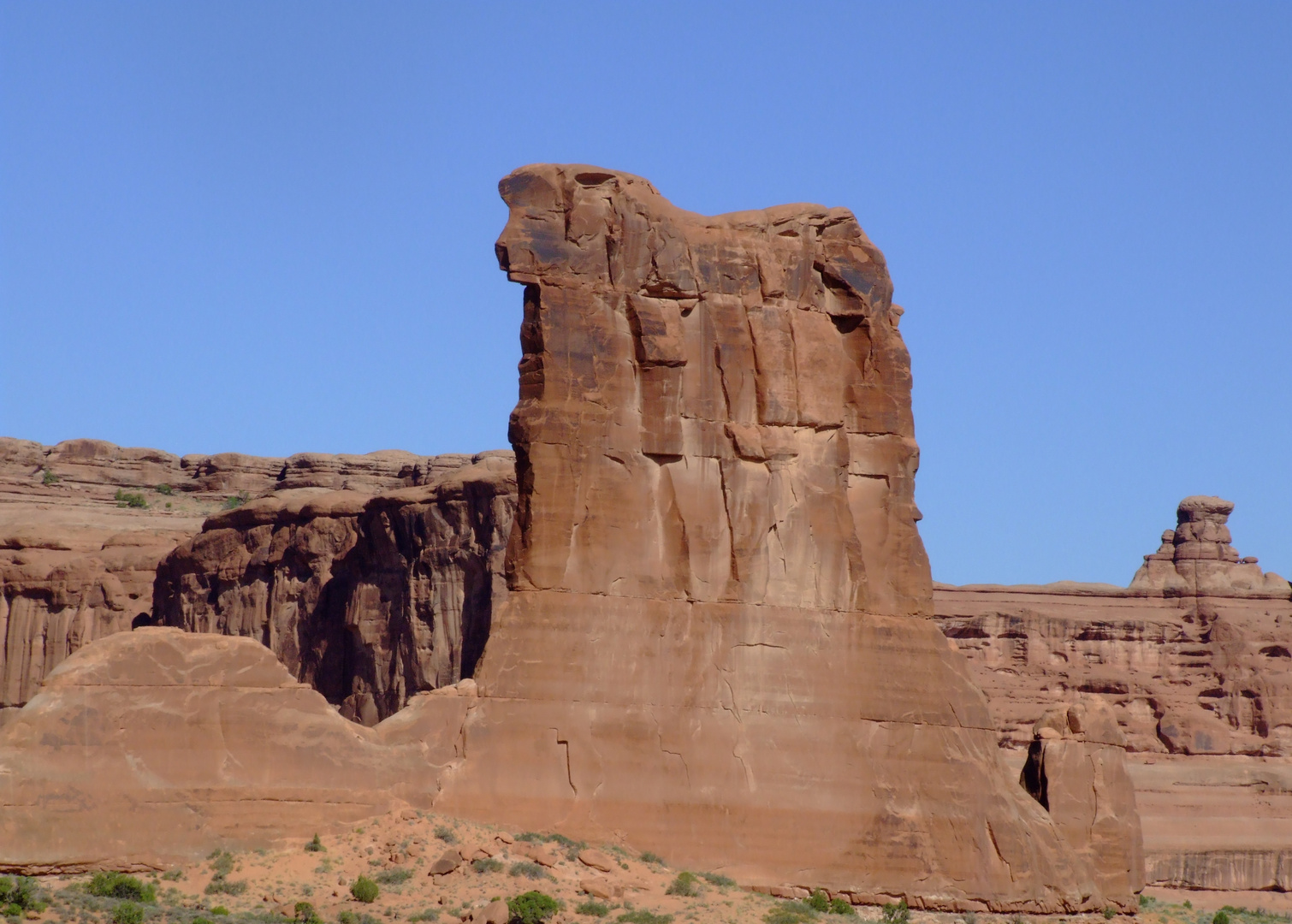 Sheep Rock, Arches NP, Utah