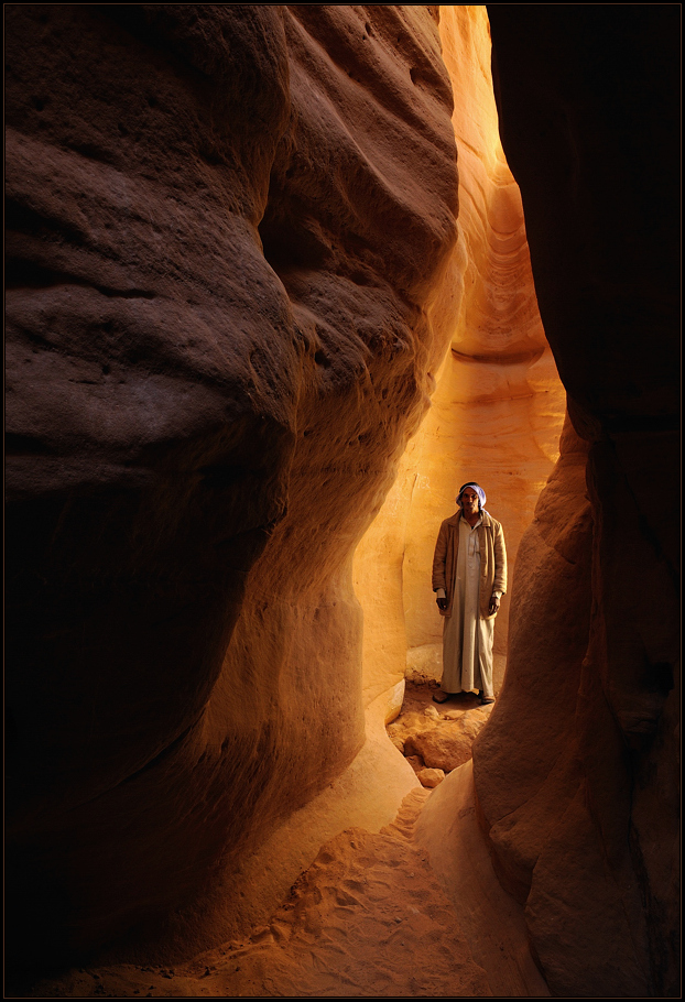 *Sheikh Muhammad and the Slotcanyon*