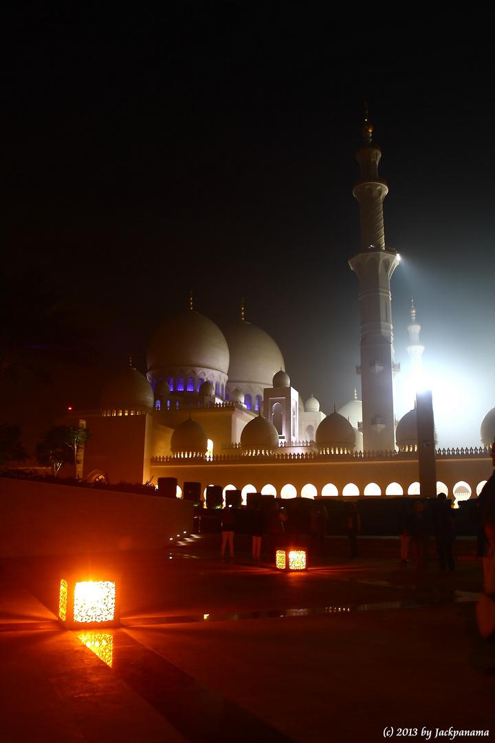 Sheikh-Zayed-Moschee in Abu Dhabi (1)
