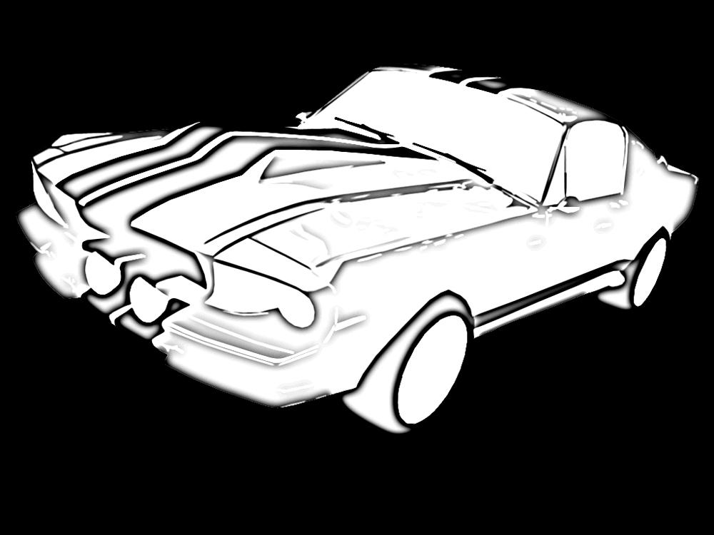 "Shelby Mustang GT 500E ""Eleanor"" #1"