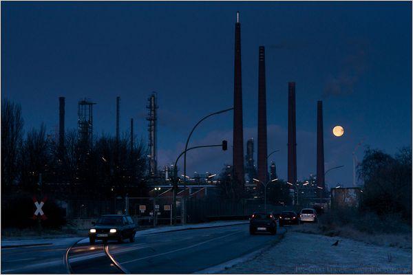 Shell und der Mond