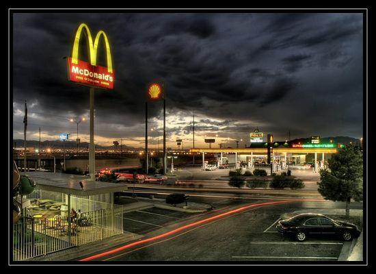 Shell und McDonalds - mehr nicht