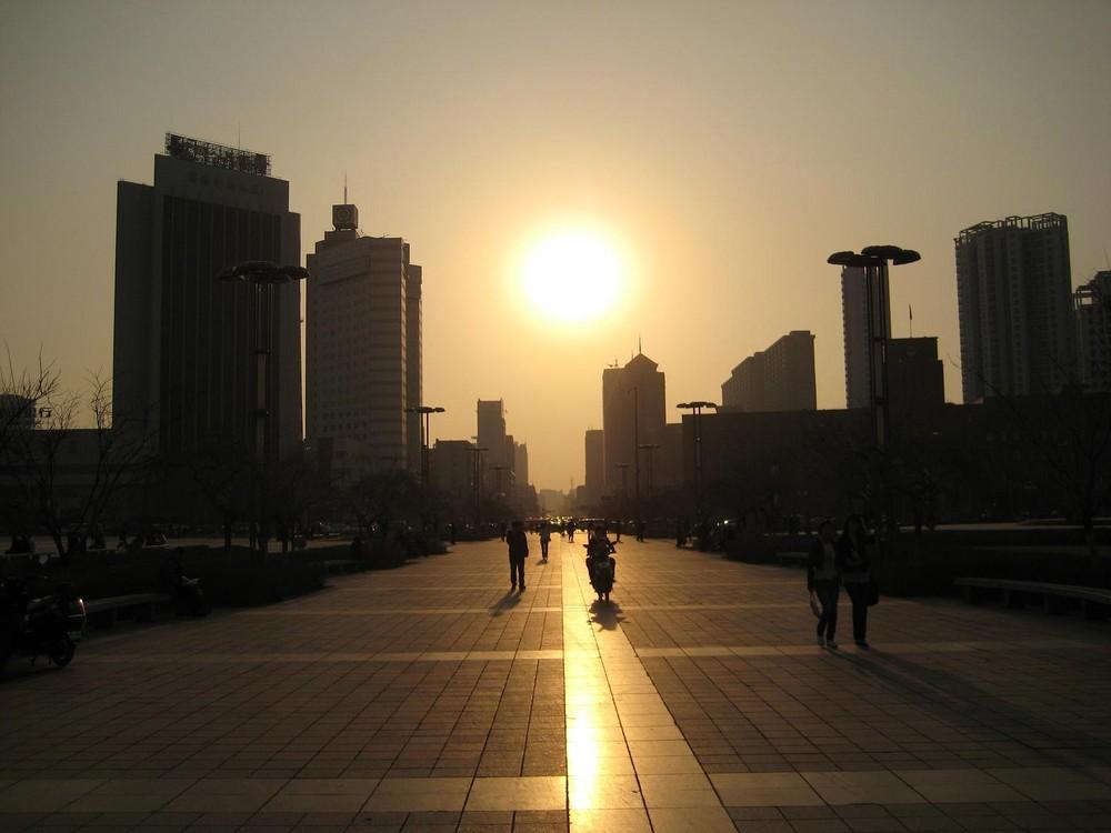 Shenyang im April