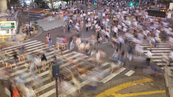 Shibuya crossing Tokyo