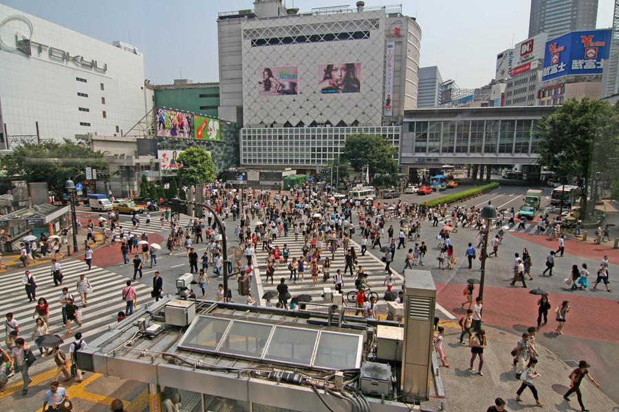 Shibuya Crossing....Tokyo
