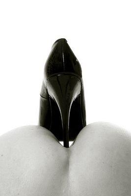 shoe at bottom