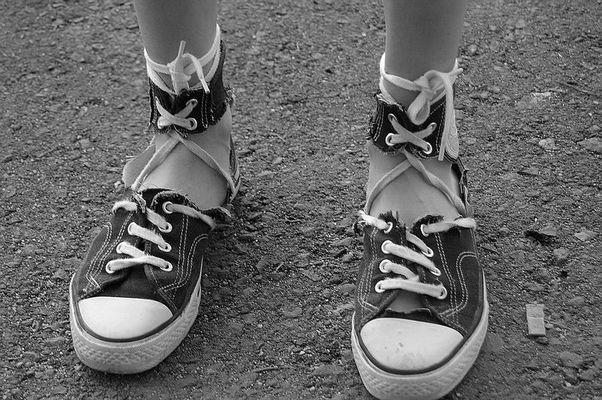 Shoe torture!