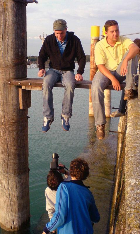 Shooting am Hafen