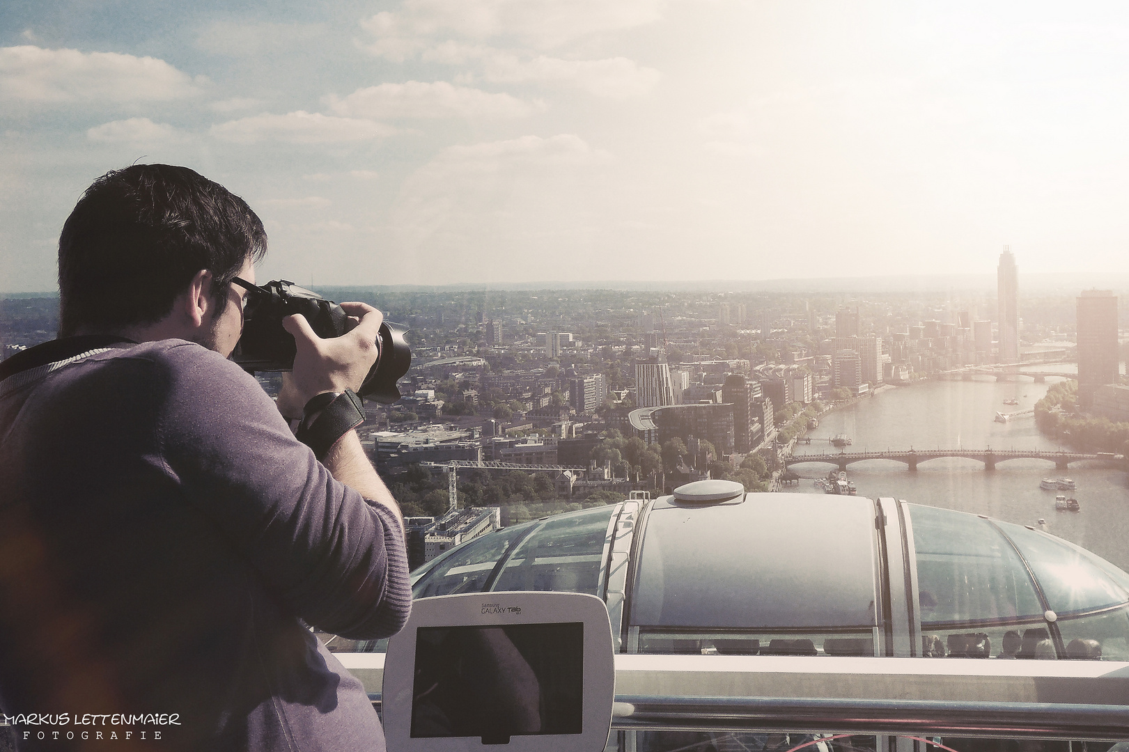 Shooting from the London Eye