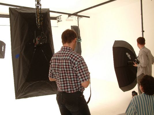 Shooting im neuen Studio Bild 1