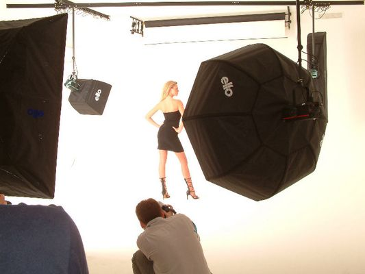 Shooting im neuen Studio Bild 2