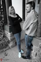 Shooting mit Dj DonTobi und Sophie....