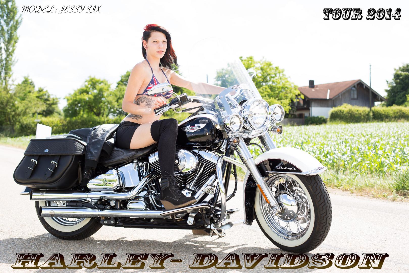 shooting mit Harley-Davidson 5