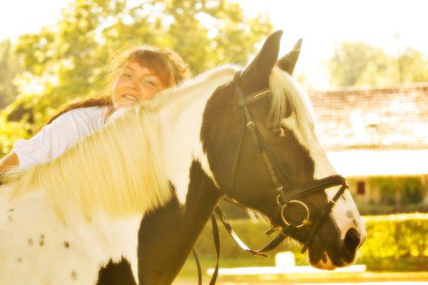 Shooting mit Pferd