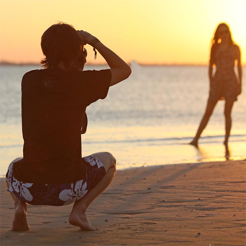 Shooting @ sunset