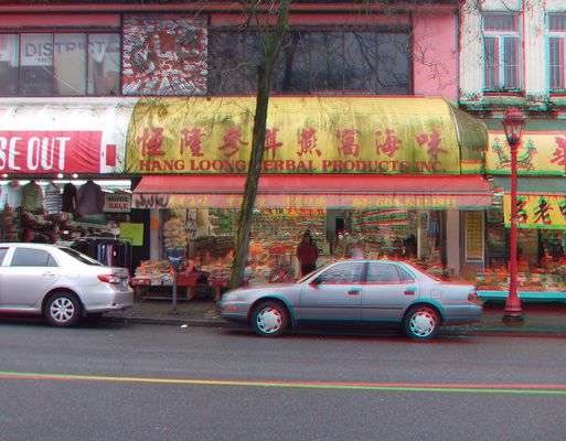Shop in Chinatown/Vancouver