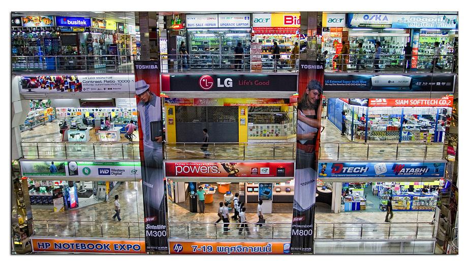 Shopping in Bangkok............