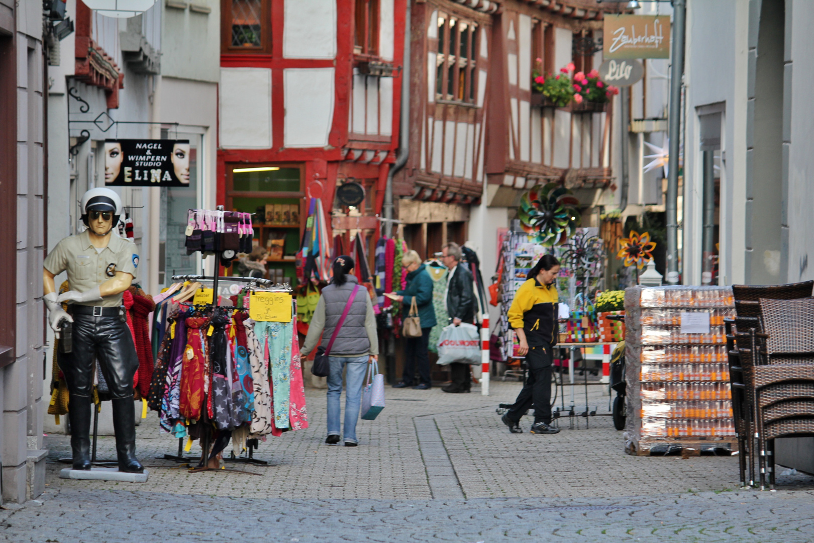 shopping in Limburg