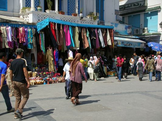 Shopping in Tunis