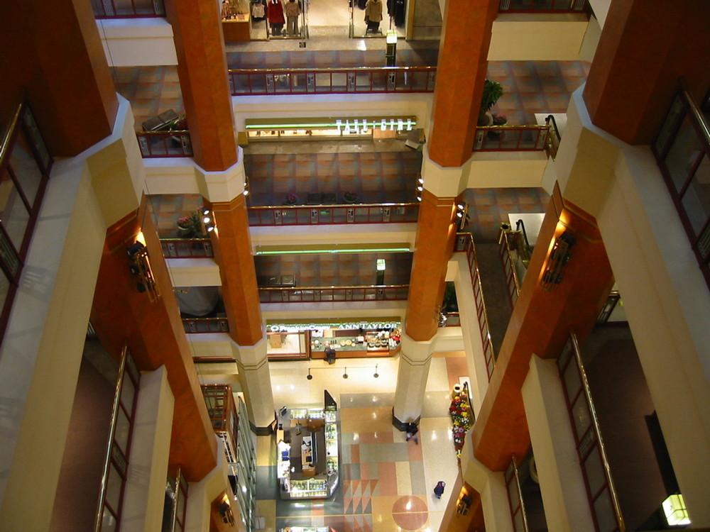 Shopping Mall an der Michigan Av. Chicago