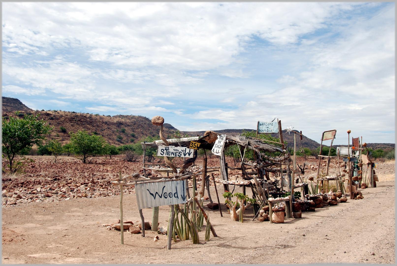 Shoppingcenter auf Namibisch ;-)